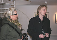 Marianne Lindberg De Geer with Andreas Boonstra