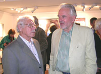 C O Hultén with Sven-Harry Karlsson
