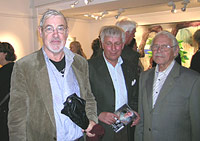 Ulf Wahlberg, Jan-Erik Norberg and C O Hultén