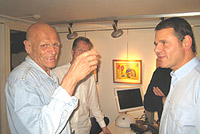 Kjartan Slettemark and Kent Belenius