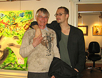 Father with son, Andreas Bagge