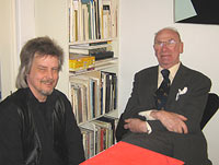 Lars Ramstedt and Teddy Brunius