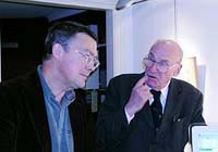 Tryggve Karlsson and Prof. Teddy Brunius