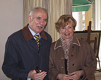 Carl-Magnus Landin and Ulla Erlandsson