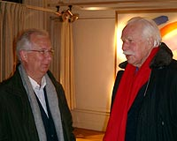 Sylvester Jansson and father Rune Jansson