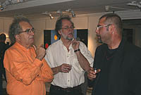 KG Nilson with Arne Frifarare and Lars Andersson