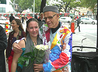 Maria Säthre with Kjartan