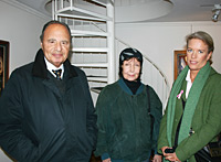 Arne Belenius, Ellen Rasch and Lotta Östing