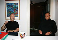 Pierre Stahre and Roger Risberg
