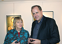 Marie Grönlund and Anders Blom