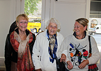 More Thaning family: Eva Rosenqvist, Marianne Thaning and Anna-Stina Thaning