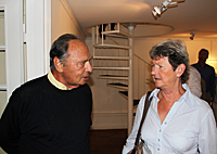 Arne Belenius and Malin Thaning