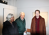 Solveig and Folke Blomqvist with Mikael Malander