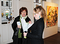 Anita Källman with Elin