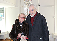 Prof. Lennart Philipson with wife