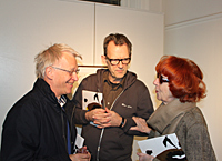 Anders Wahlgren, Thomas Millroth and Kerstin Lindell