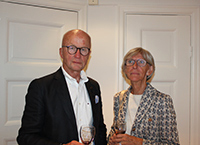 Mr and Mrs Erik Bergström