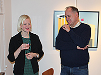 Karolina Uggla and Anders Blom