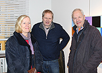 Jan & Bo Ahlman with wife